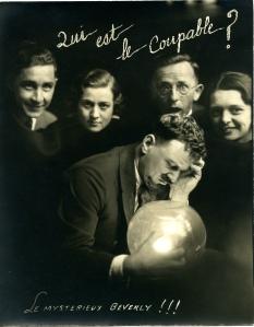Ad photo for Mystere Barton (1933)